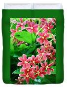 Little Pink Flowers Duvet Cover