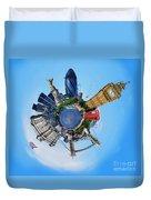 Little Planet - London Duvet Cover