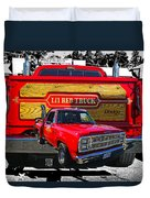 Little Red Express Dbl Hdr Duvet Cover