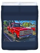 Little Red Express Hdr Duvet Cover