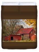 Little Red Farm Duvet Cover