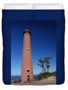 Little Sable Point Lighthouse Duvet Cover