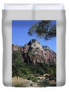 Little Virgin River - Zion National Park Duvet Cover