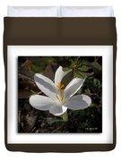 Little White Flower Duvet Cover