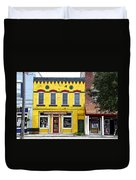 Little  Yellow Store Duvet Cover