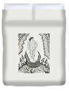 Live Nude Male No. 27 Duvet Cover
