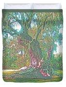 Live Oak On The Teche Duvet Cover