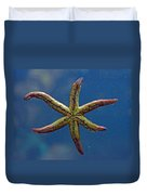 Live Starfish Duvet Cover
