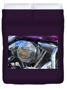 Live To Ride Duvet Cover