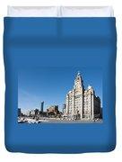 Liverpool Skyline Duvet Cover
