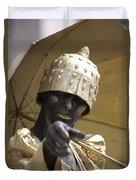 Living Statue Duvet Cover