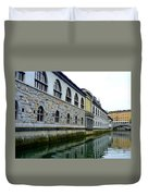 Ljubljana Reflections Duvet Cover