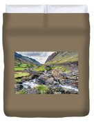 Llanberis Pass Duvet Cover by Adrian Evans