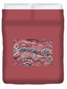 Lm Of Cardiac Muscle Duvet Cover