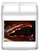 Lobster Claw Duvet Cover