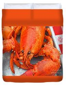 Lobster Duvet Cover