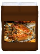 Lobster Mouth Duvet Cover