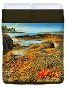 Lobster Stew Duvet Cover