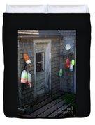 Lobsterman's House Duvet Cover