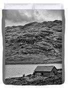 Loch Arklet Boathouse Duvet Cover