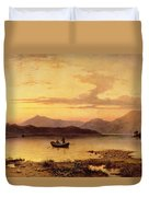 Loch Etive From Bonawe In The Evening Duvet Cover