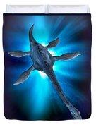 Loch Ness Monster Duvet Cover