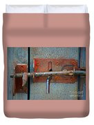Lock And Latch Duvet Cover