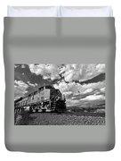 Locomotive To The Sky  Duvet Cover