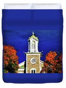 Logan Utah Lds Tabernacle Duvet Cover