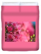 Lollypop Gum Tree Blossoms Duvet Cover