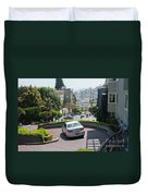 Lombard Street San Francisco Duvet Cover