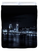 London At  Night View Duvet Cover