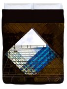 London Building Abstract Duvet Cover