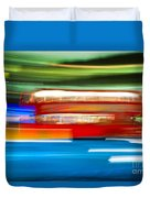 London Bus Motion Duvet Cover