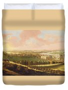 London From Greenwich Hill Duvet Cover