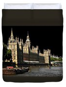 London Parliament Duvet Cover