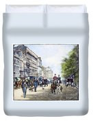London: Piccadilly, 1895 Duvet Cover