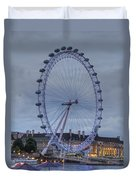 London Skyline Edf Eye Duvet Cover