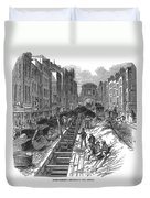 London:fleet Street Sewer Duvet Cover