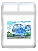 London's City Hall Duvet Cover