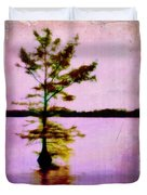Lone Cypress Duvet Cover by Judi Bagwell