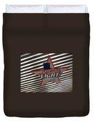 Lone Star Beer Light Duvet Cover