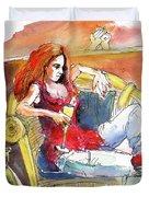 Loneliness Duvet Cover