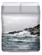 Lonely Cape St. James At Southern Point Duvet Cover