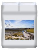 Lonely House On The Prairie Duvet Cover