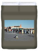 Lonely In Marrakesh Duvet Cover