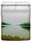 Long Pond Morning Duvet Cover
