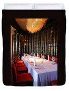 Long Table Duvet Cover