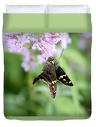 Long Tailed Skipper - Urbanus Proteus Duvet Cover
