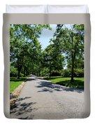 Long Walk Ahead Duvet Cover